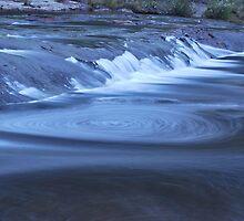 Top of Carrington Falls by Warren  Patten