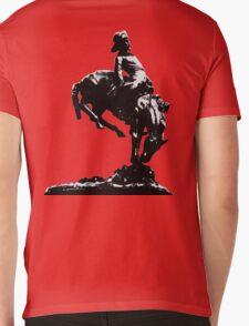 Glasgow Cowboy T-Shirt Mens V-Neck T-Shirt
