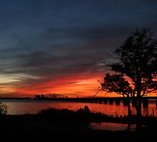 Biloxi Bay Twilight by Jonicool