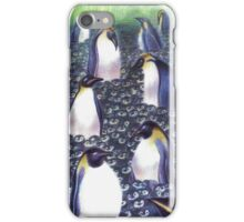 Penguins protect iPhone Case/Skin