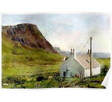 Moonen Bay, Skye, Scotland Poster