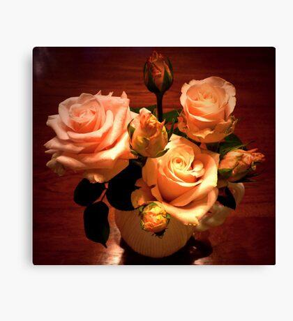 """Novembers Roses"" Canvas Print"