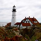 Portland Headlight by hcorrigan