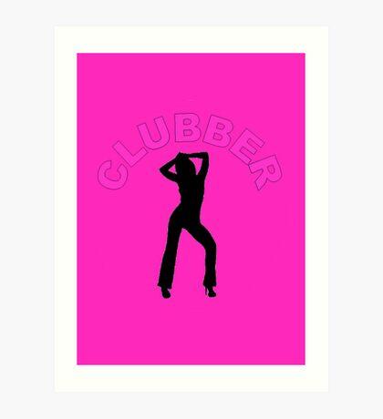 Clubber Art Print