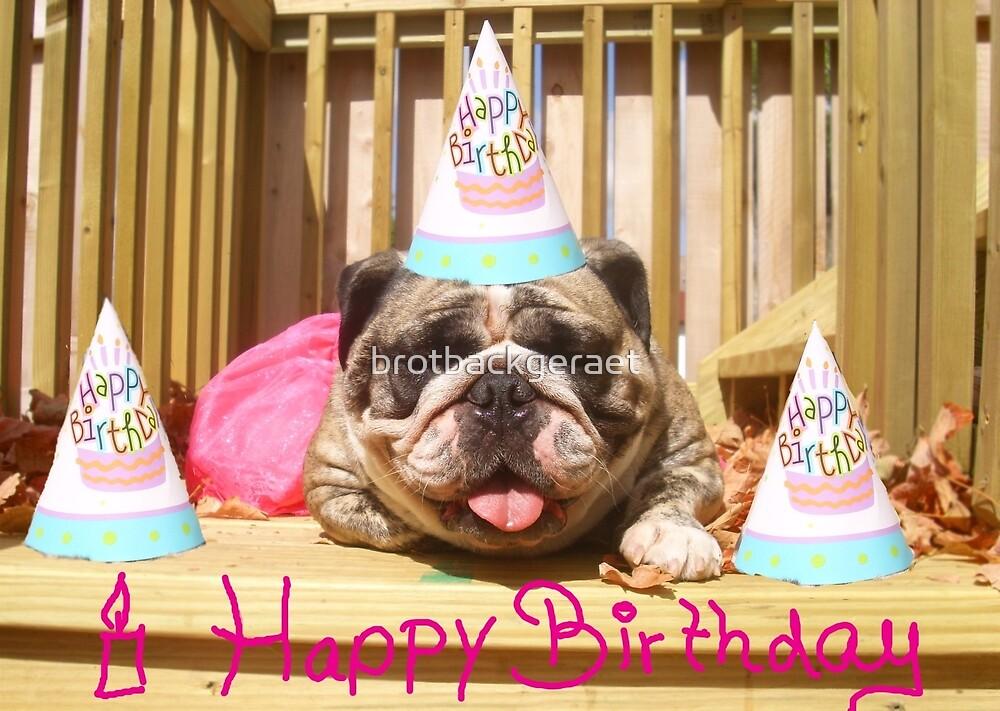 Birthday by brotbackgeraet