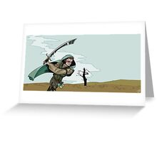 Rogue Runner Greeting Card