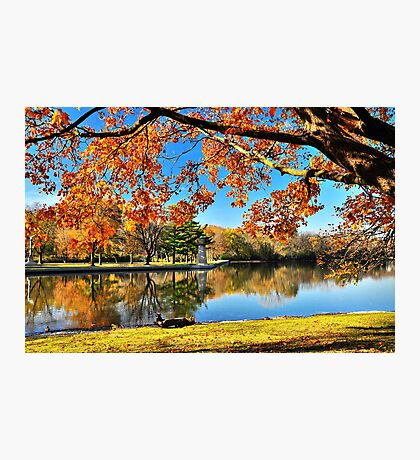 Autumn on the Fox River Photographic Print