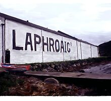 Laphroaig Distillery on Islay by Ian Gray
