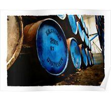 Kilchoman Whisky Barrel Poster