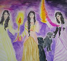 Hecate by TriciaDanby