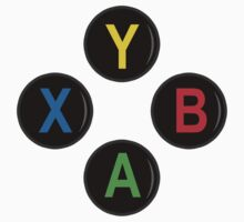 Xbox One Buttons - Minimalist Baby Tee
