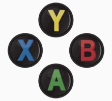 Xbox One Buttons Kids Tee