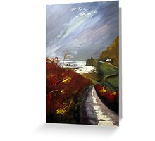 Towards Priest's Cove, Cape Cornwall Greeting Card
