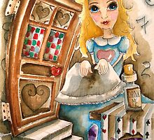 Alice in Wonderland by StressieCat