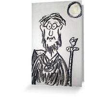 The druid Greeting Card
