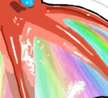 Iridescent Vampire Squid Sticker