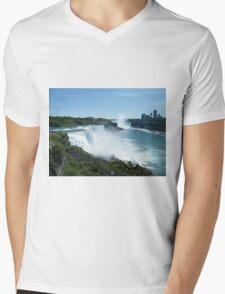 Niagara Falls - View from the US Mens V-Neck T-Shirt