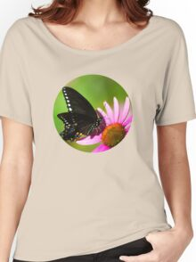 Colorful Butterfly in the Sun Women's Relaxed Fit T-Shirt