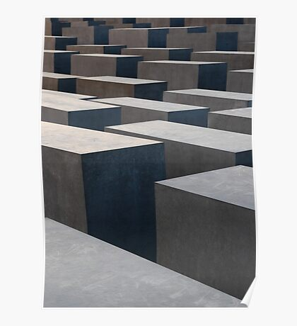 Berlin Holocaust Memorial Poster