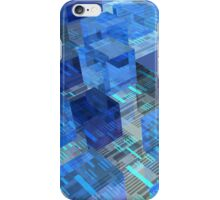 Boxes of Blue iPhone Case/Skin