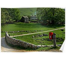 Yorkshire Dales, England. Poster