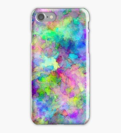 Abstract Patches of Color iPhone Case/Skin