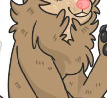 werewolf gal Sticker