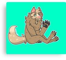 werewolf gal Canvas Print