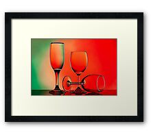 Playing with Light Framed Print