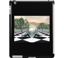 Checker Trees iPad Case/Skin