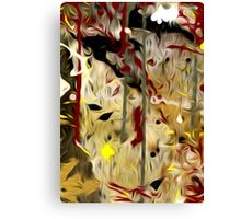 Abstract Colors Oil Painting #56 Canvas Print