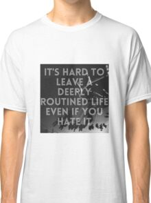 Summertime Grunge Quote  Classic T-Shirt