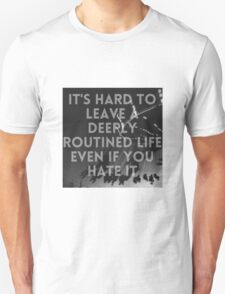 Summertime Grunge Quote  T-Shirt