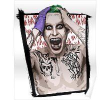 Joker Jared Leto Poster
