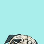 pug by anapintora