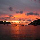 Sky on fire - Majorca by porteous