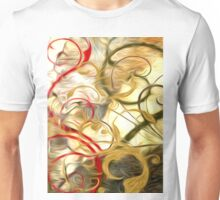 Abstract Colors Oil Painting #61 Unisex T-Shirt