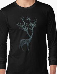 Blue Deer Long Sleeve T-Shirt