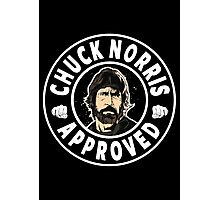 Chuck Norris Approved Photographic Print