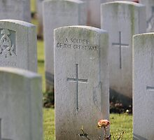 Grave of an unknown soldier by Tony Roddam