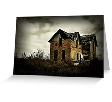 Another Day Gone Greeting Card