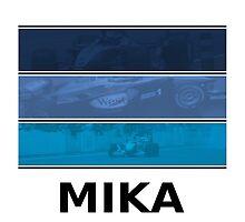 Mika Hakkinen 'Mika' Design by TotallyF1