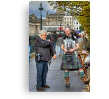 Careful John, that is not a lady Canvas Print