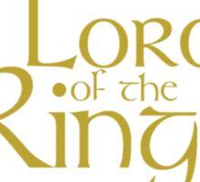 LORD OF THE RINGS / EL SEÑOR DE LOS ANILLOS Sticker