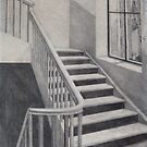 Empty Stairwell by Sally Sargent
