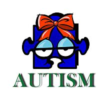 Autism Face Photographic Print