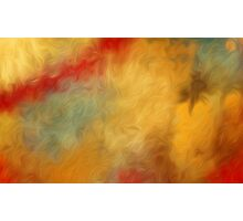 Abstract Colors Oil Painting #65 Photographic Print