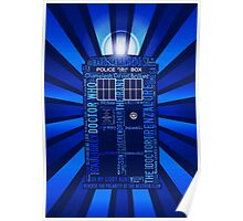Tardis of Text Poster