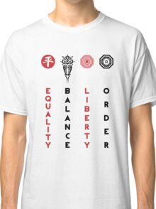 Korra's Antagonists - Legend of Korra (Red / Black Lettering) Classic T-Shirt