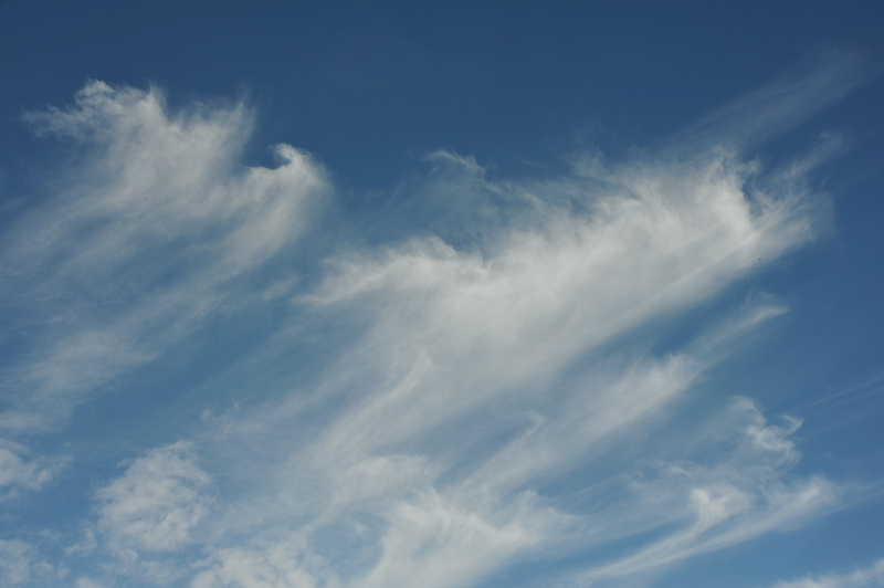Moving cloud shapes by James  Kerr